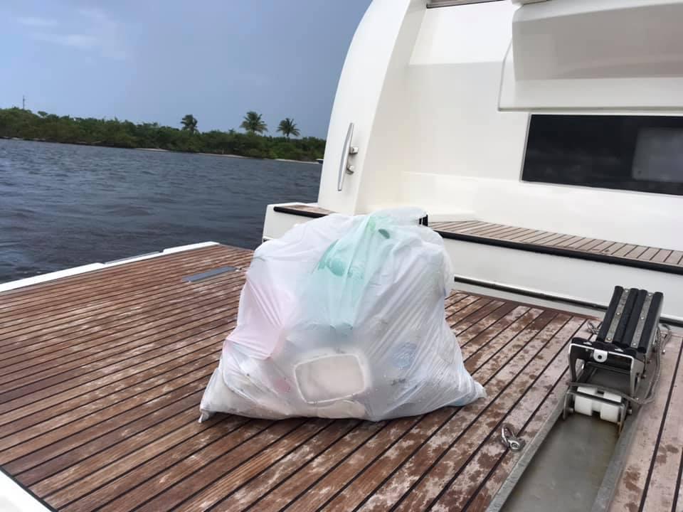 Picked up beach plastic - 2
