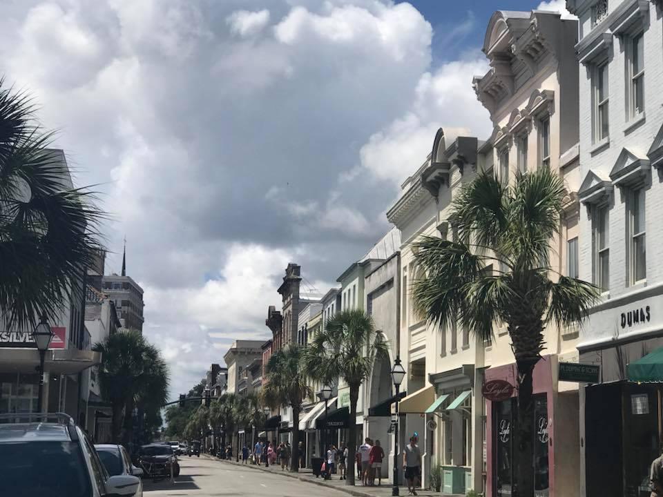 Charleston shopping street