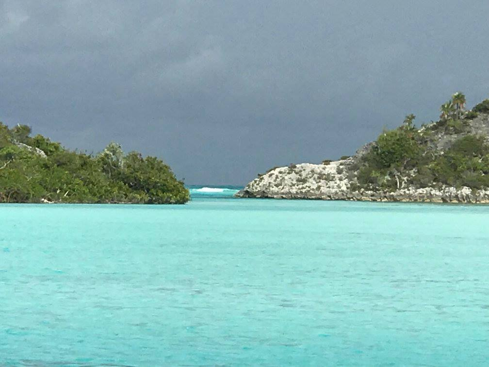Mangrove dinghy ride - Shroud Cay