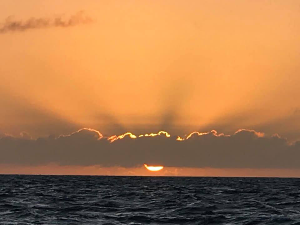 Bahamian sunset - Staniel Cay