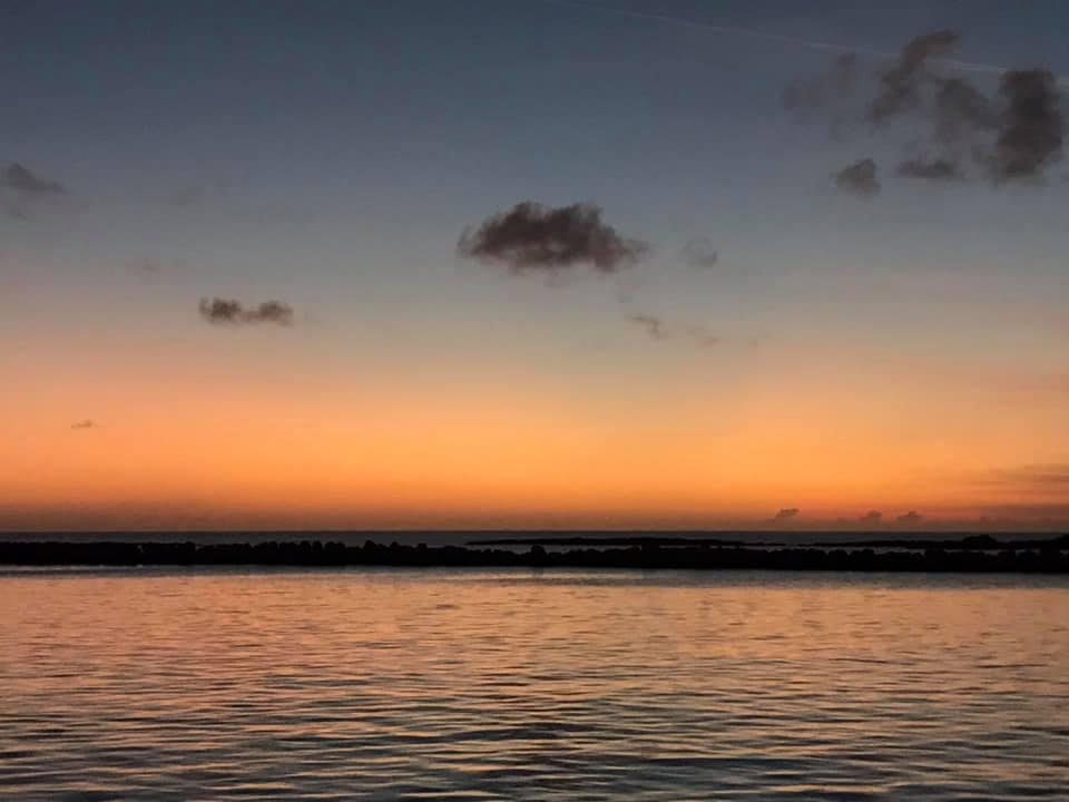Sunset at Highbourne Cay
