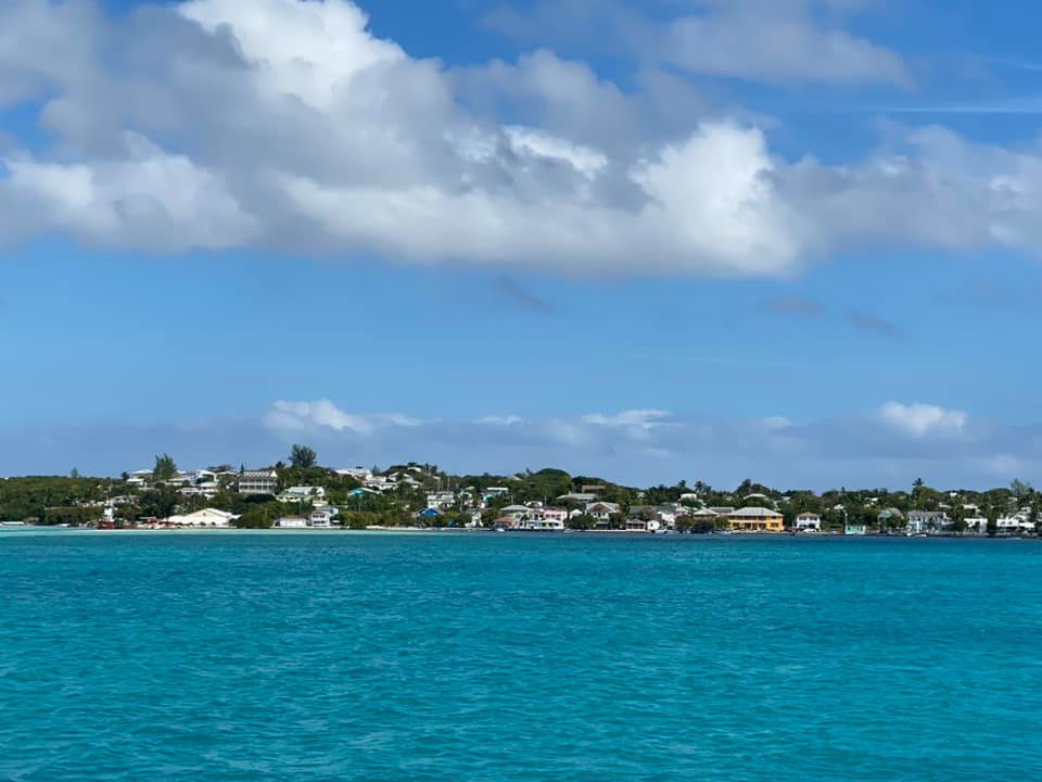 Arriving to Harbour Island