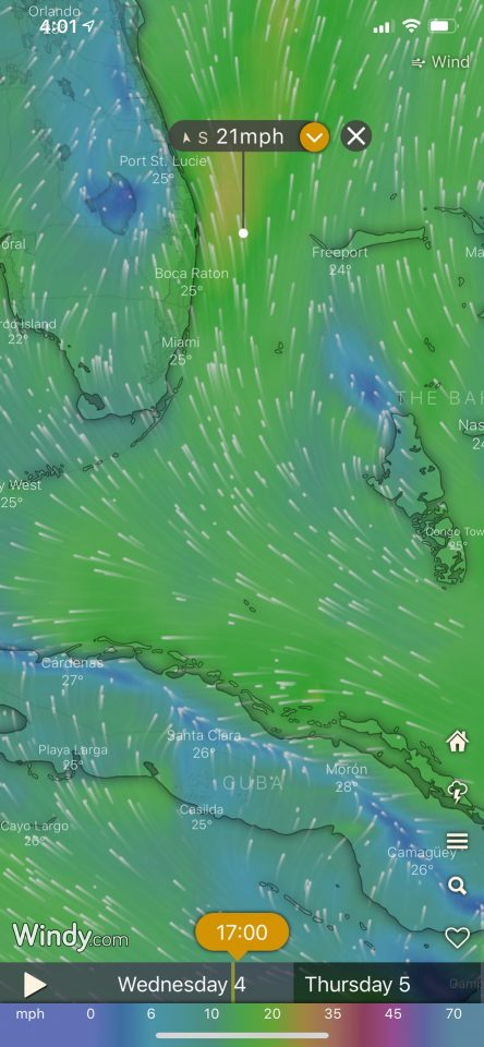 Windy App - wind