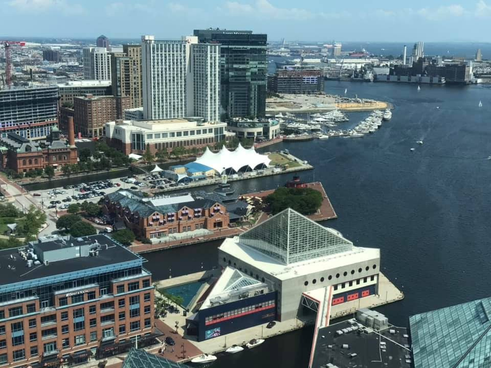 Bmore Inner Harbor, view from WTC