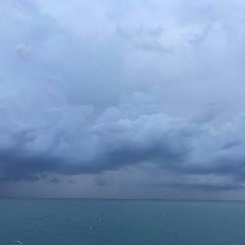 Weather coming in Cape Canaveral