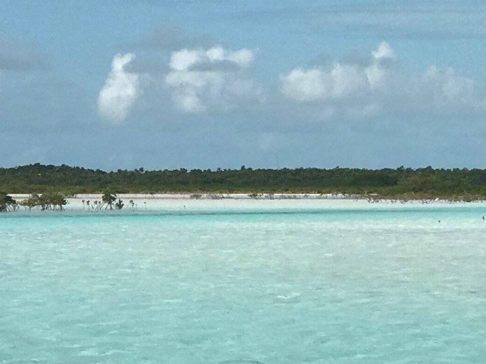 Shroud - mangrove dinghy ride