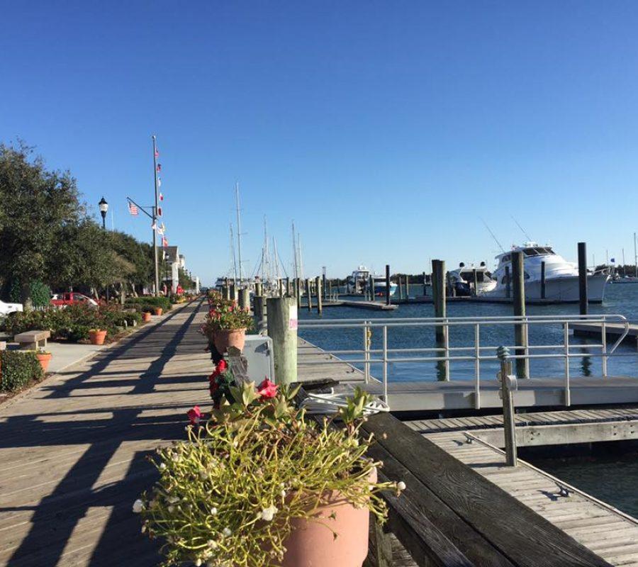 Beaufort boardwalk