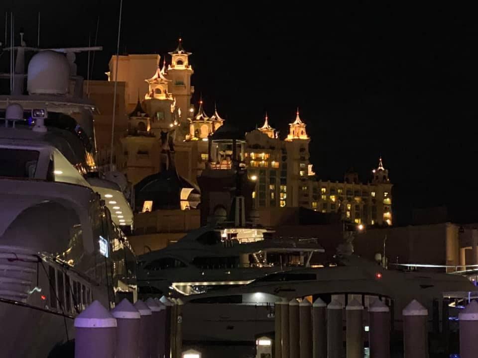 Atlantis at night