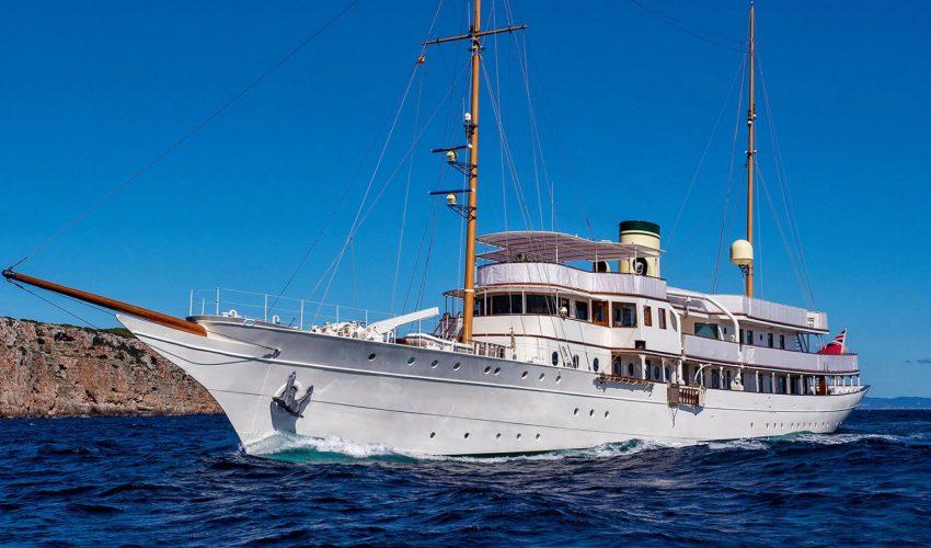 Winner Refitted Yachts - M/Y Haida 1929 ©Christopher Scholey